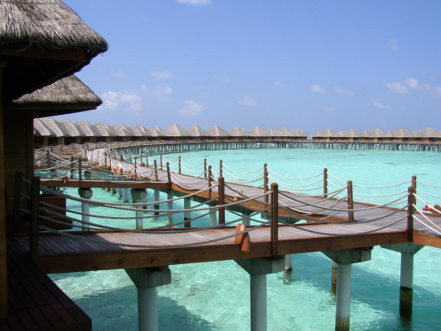 Sun Aqua Vilu Reef Beach Spa Resort Overview