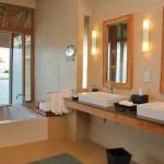 Deluxe Over Water Bungalow Bathroom